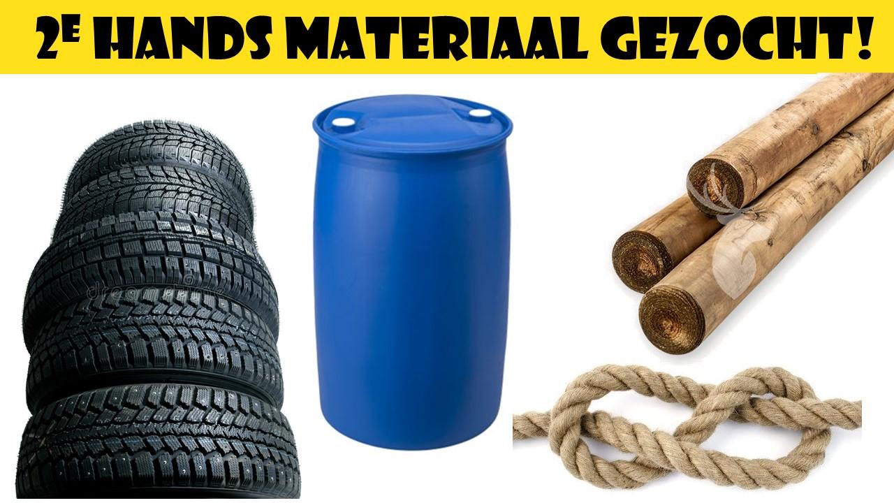 Materiaal gezocht voor outdoorlessen