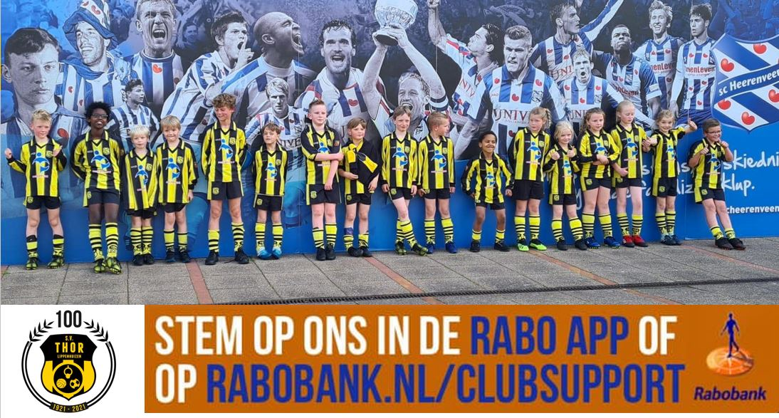 Stem op THOR via Rabo ClubSupport