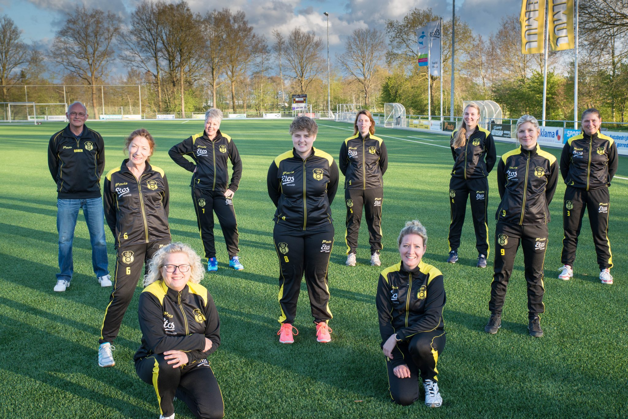 THOR volleybal dames 1